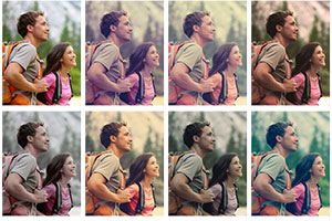chromantic Photoshop actions