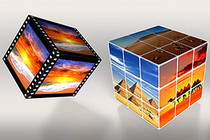 cube photoshop actions