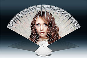 Hand Fan free Photoshop actions