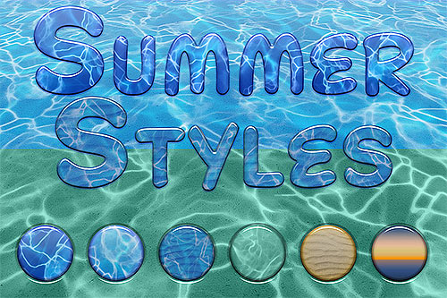 PanosFX Summer Photoshop styles