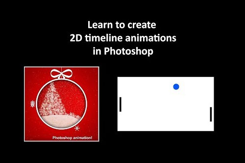 Photoshop 2D Timeline animations explained