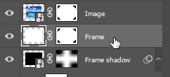 frame layer right click
