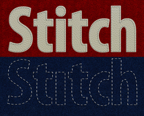 stitched graphics