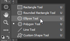 create ellipse tool