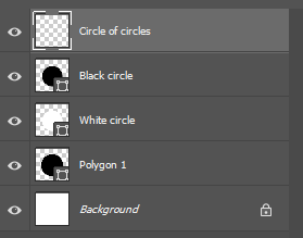 circle of circles new layer