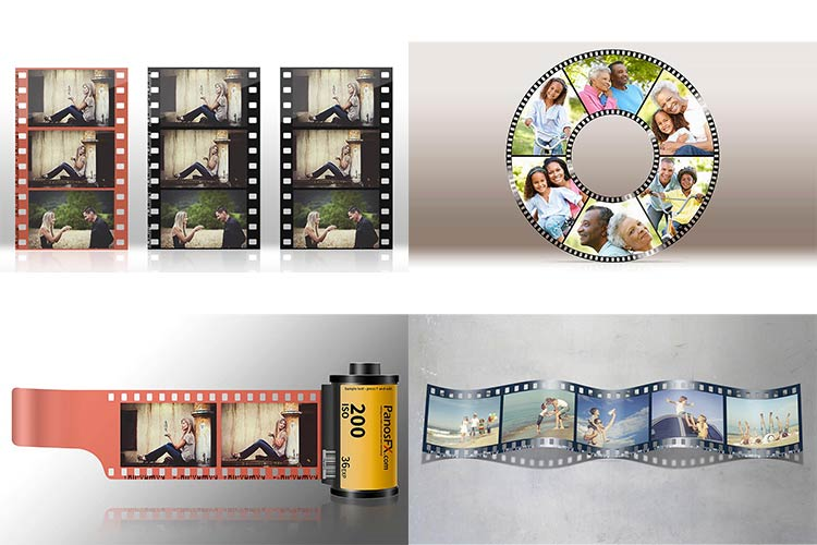 filmstrips photoshop actions