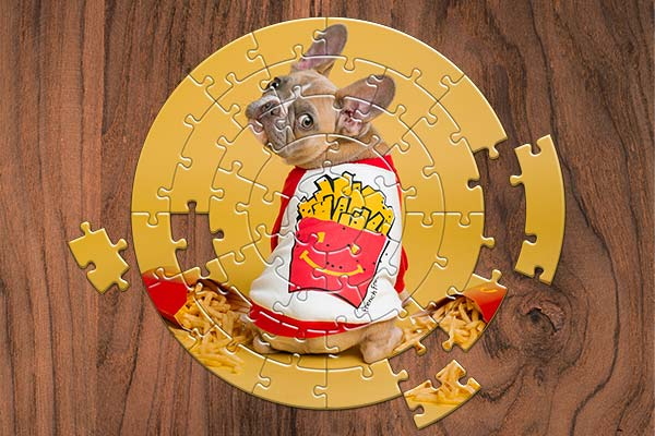 JIGSAW PUZZLES Photoshop actions